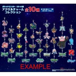 Pokemon 2020 Team Rocket Weezing Koffing Acrylic Charm #2