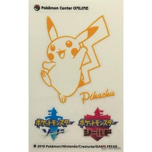 Pokemon Center Online 2019 Sword & Shield Pikachu Sticker