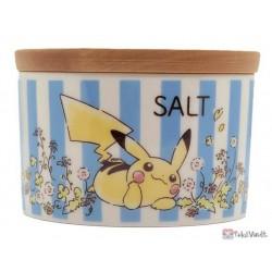 Pokemon Center 2020 Pikachu Salt Container Flowers In Full Bloom