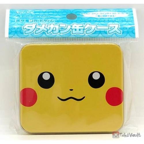 Case Pikachu Face Pokemon Card Game
