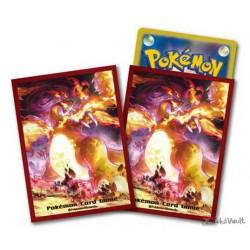 Pokemon Center 2020 Gigantamax Charizard Set Of 64 Deck Sleeves