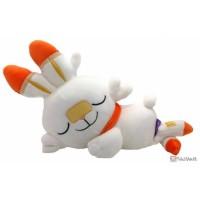 Pokemon 2020 Scorbunny Takara Tomy Sleeping Friends Series Plush