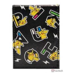Pokemon Center 2020 Pika Pikachu Leather Deck Box (Black)