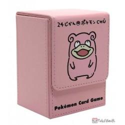 Pokemon Center 2020 Slowpoke 24 Hour CHU Leather Deck Box
