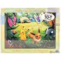 Pokemon 2019 Eevee Butterfree Snorlax 1000 Piece Jigsaw Puzzle