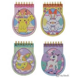 Pokemon Center 2020 Easter Yamper Scorbunny Memo Pad Set Of 4