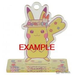 Pokemon Center 2020 Easter Scorbunny Acrylic Stand Keychain