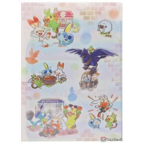 Pokemon Center 2020 Corviknight Galar Tabi File Folder