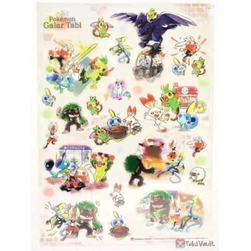 Pokemon Center 2020 Galarian Ponyta Galar Tabi Sticker Sheet