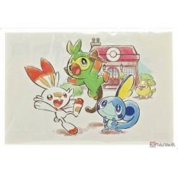 Pokemon Center 2020 Drizzile Raboot Galar Tabi Set Of 6 Postcards