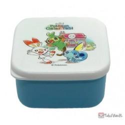 Pokemon Center 2020 Rillaboom Galar Tabi Set Of 4 Food Containers
