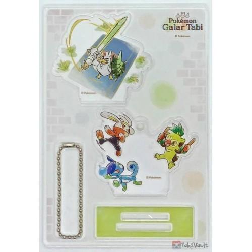 Pokemon Center 2020 Sirfetch'd Galar Tabi Acrylic Stand Keychain #3