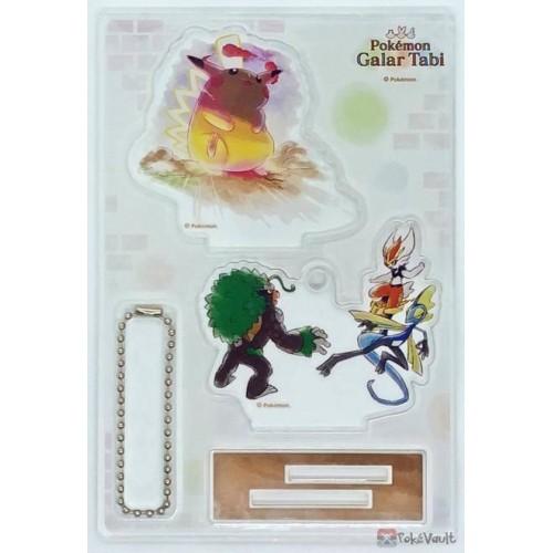 Pokemon Center 2020 Gigantamax Pikachu Galar Tabi Acrylic Stand Keychain #5