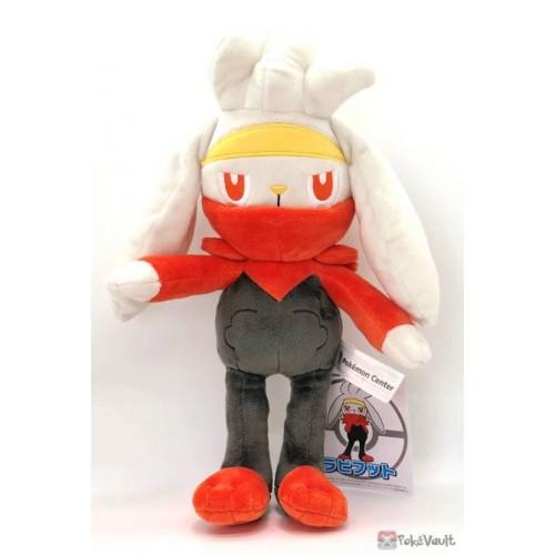 Pokemon Center 2020 Raboot Plush Toy