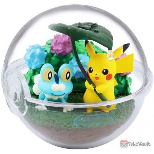 Pokemon 2020 Froakie Pikachu Re-Ment Terrarium Four Seasons Figure #2