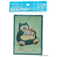 Pokemon Center Japanese Snorlax Yawn Deck Box Card Shield Case