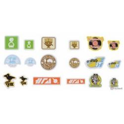 Pokemon Center 2020 Galar Region Company Logo Set Of 108 Stickers