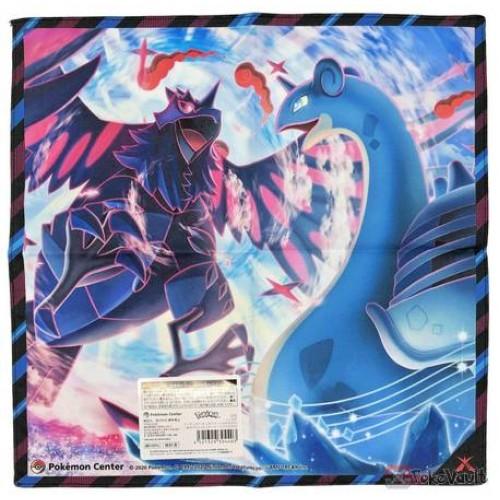 Pokemon Center 2020 Gigantamax Corviknight Lapras Cloth Handkerchief