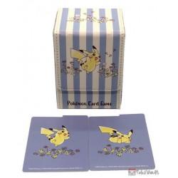 Pokemon Center 2020 Pikachu Flowers In Full Bloom Leather Deck Box