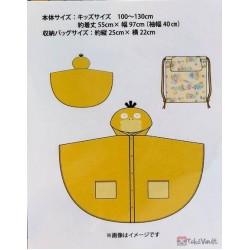 Pokemon Center 2020 Easy Going Psyduck Childrens Rain Poncho