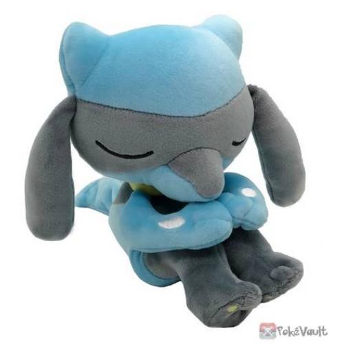 Pokemon 2020 Riolu Takara Tomy Sleeping Friends Series Plush