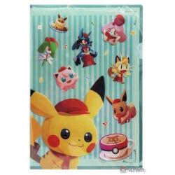 Pokemon Center 2020 Pokemon Cafe Mix Eevee Set Of 2 File Folders