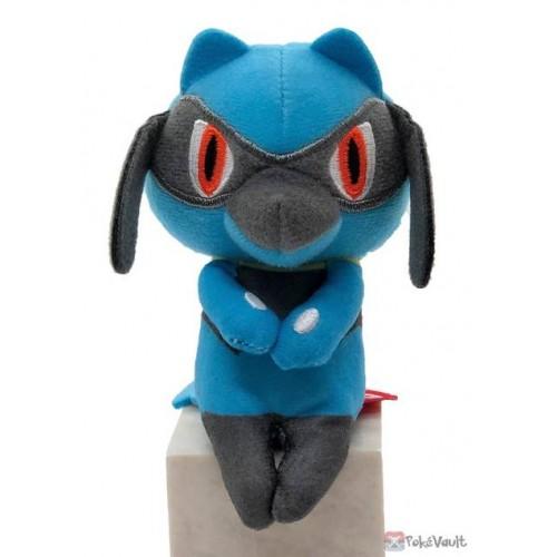 Pokemon 2020 Lucario Takara Tomy Chokkori San Small Plush Toy
