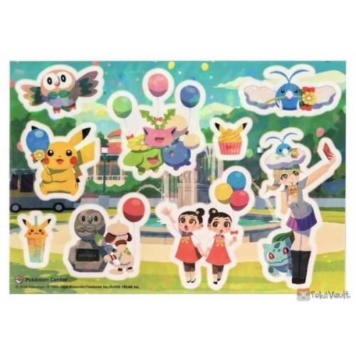 Pokemon Center Mega Tokyo 2020 Renewal Opening Peelable Sticker Sheet