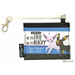 Pokemon 2020 Espeon Umbreon Bright Color Collection Train Pass Case