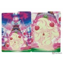 Pokemon Center 2020 Gigantamax Alcremie Card Deck Box Holder
