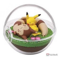 Pokemon 2020 Furret Pikachu Re-Ment Terrarium Series #8 Figure