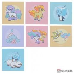 Pokemon Center 2020 Hello Ponyta Set Of 7 Stickers
