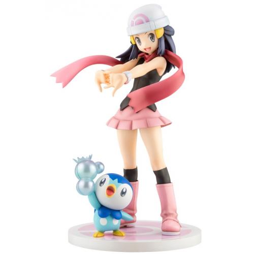 Pokemon 2020 Dawn Piplup Kotobukiya ArtfxJ 1/8 Scale Figure