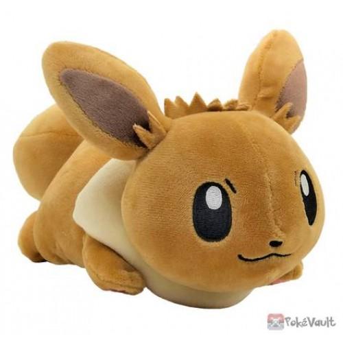 Pokemon 2018 Eevee Mofu Mofu Arm Pillow Lying Plush