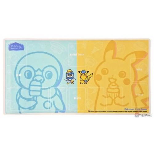 Pokemon Center 2020 Nonbiri Life Premium Half Rubber Playmat