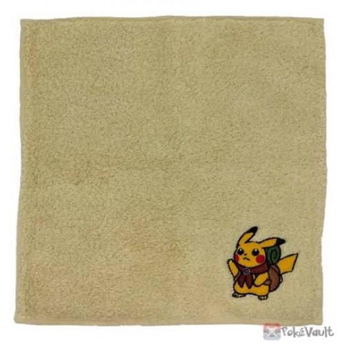 Pokemon Center 2020 Pikachu Adventure Embroidered Hand Towel