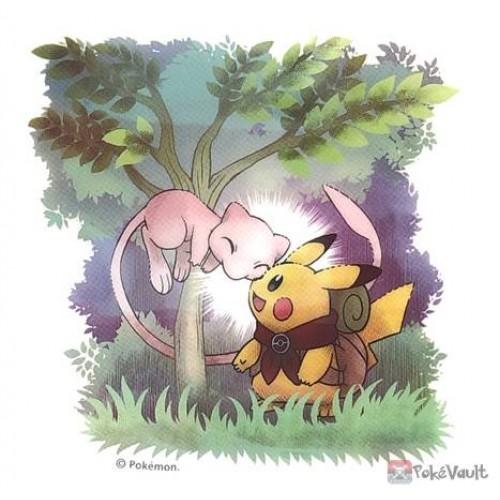 Pokemon Center 2020 Pikachu Adventure Mew Large Sticker
