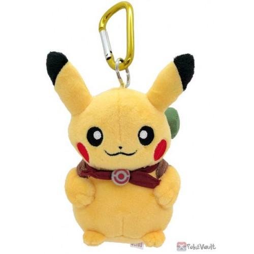 Pokemon Center 2020 Pikachu Adventure Mascot Plush Keychain