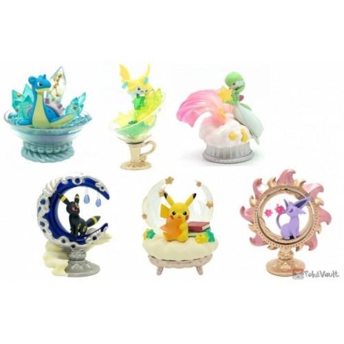Pokemon 2020 Re-Ment Starrium Complete Set Of 6 Figures