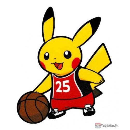 Pokemon Center 2020 Pikachu Basketball Pokemon Sports Large Sticker