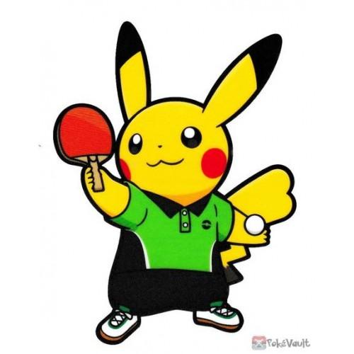 Pokemon Center 2020 Pikachu Table Tennis Pokemon Sports Large Sticker