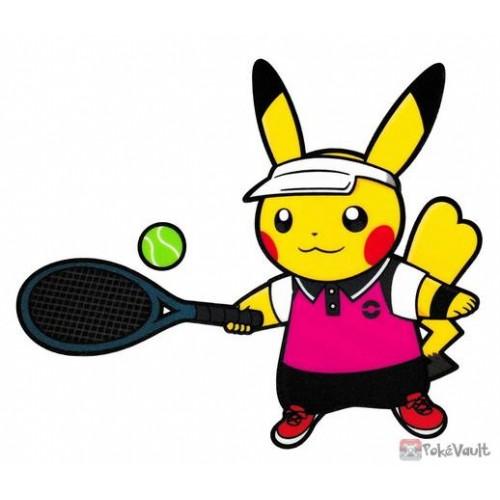 Pokemon Center 2020 Pikachu Tennis Pokemon Sports Large Sticker