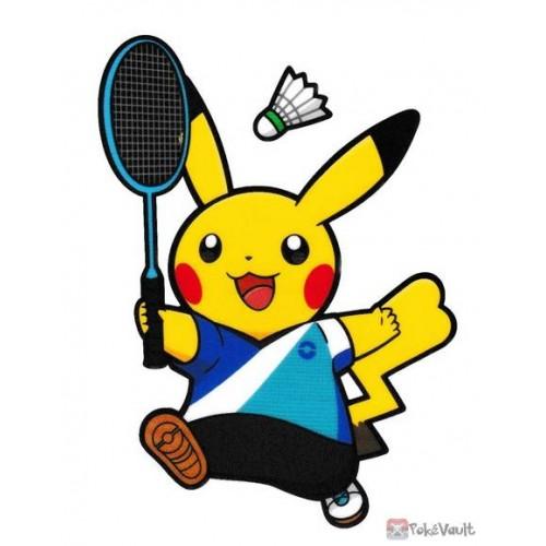 Pokemon Center 2020 Pikachu Badminton Pokemon Sports Large Sticker