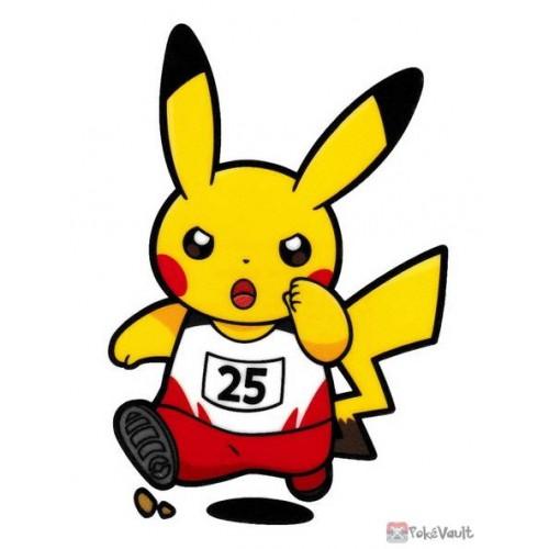 Pokemon Center 2020 Pikachu Track Pokemon Sports Large Sticker