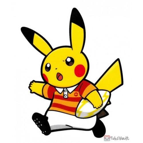 Pokemon Center 2020 Pikachu Rugby Pokemon Sports Large Sticker