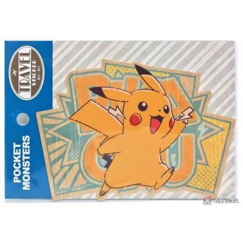 Pokemon 2020 Pikachu Large Travel Sticker