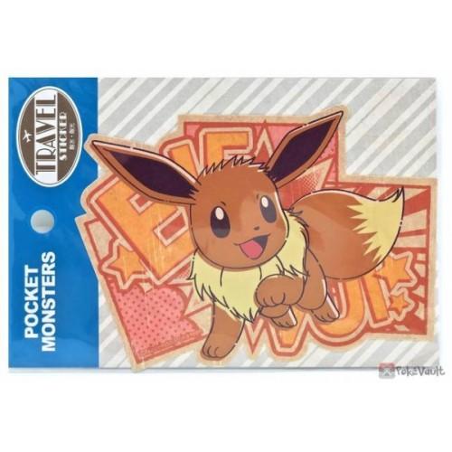 Pokemon 2020 Eevee Large Travel Sticker