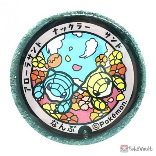 Pokemon 2020 Tottori Sandshrew Manhole Series Large Metal Button #10