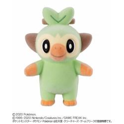 Pokemon 2020 Bandai Pokemofu Doll Vol. 5 Grookey Figure #2