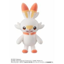 Pokemon 2020 Bandai Pokemofu Doll Vol. 5 Scorbunny Figure #3